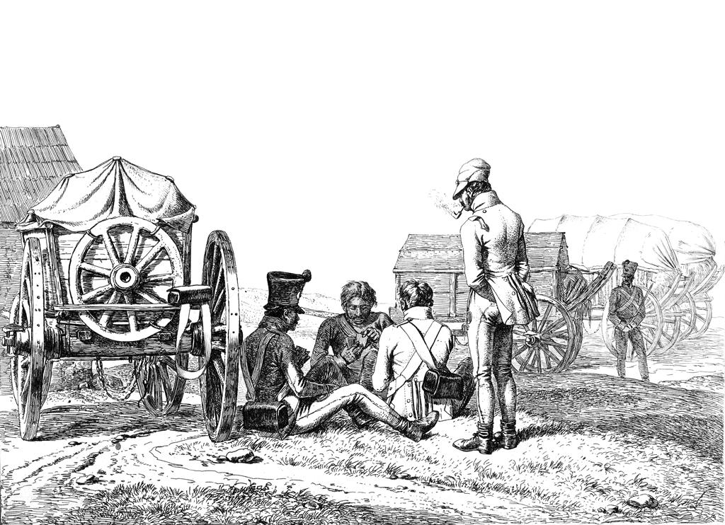 Johann Adam Klein 1792 1875 Armchair General And