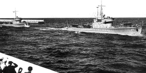 Okręty Polskiej Marynarki Wojennej w latach 1918–1939