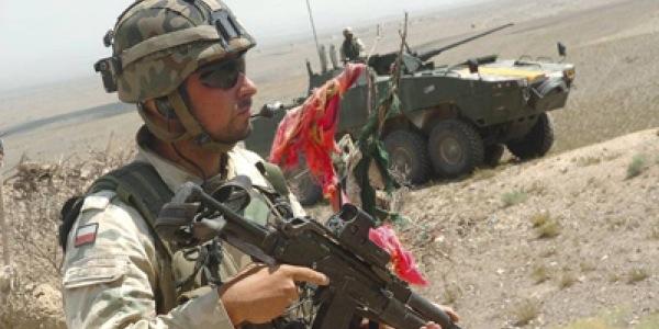 Wyjazd polskich żołnierzy do Afganistanu