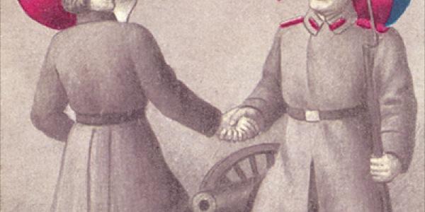 Jak Lach z bratem Moskalem. Propaganda rosyjska  w Królestwie Polskim A.D. 1914