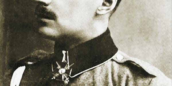 Kornet Anders zdobywa Krzyż św. Jerzego (bój o Kuchcze w 1915 r.)