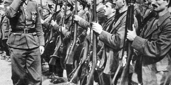 Muzułmańskie jednostki Waffen SS. Za