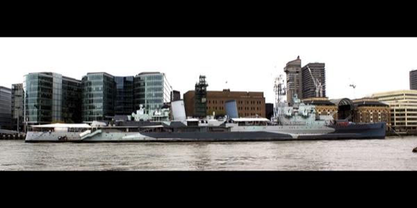 Ostatni duży artyleryjski okręt Europy