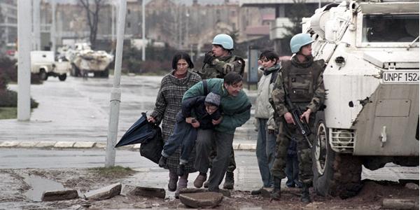 Masakra w Srebrenicy - hańba ONZ