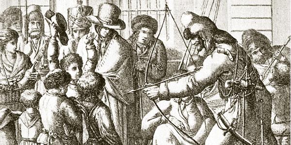 Z łukiem na Napoleona