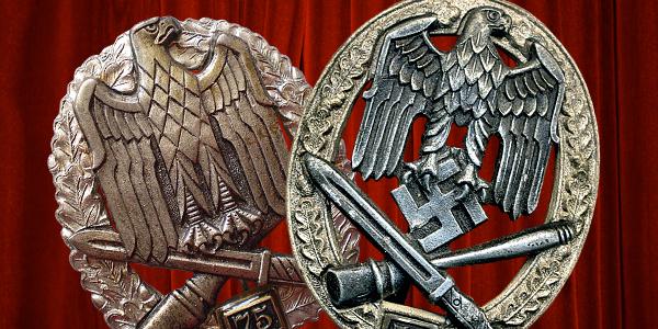 Niemieckie Ogólne Odznaczenia Szturmowe II, III i IV stopnia, cz. 1