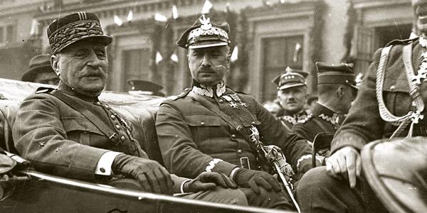 Marszałek Foch w Warszawie, maj 1923