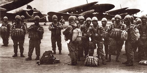 KUTEI BUTAI ? Japońscy spadochroniarze Armii. 1941