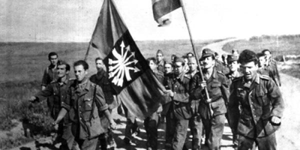 Błękitna Dywizja na froncie wschodnim