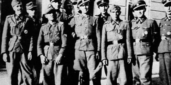 """Hiszpańscy ochotnicy w Dywizji Waffen-SS """"Wallonien"""""""