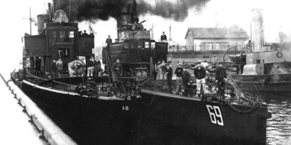 OKRęTY POLSKIEJ MARYNARKI WOJENNEJ W LATACH 1918-1939