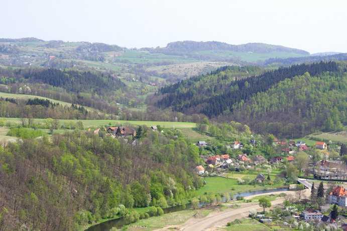 Wleń - zamek Lenno i pałac
