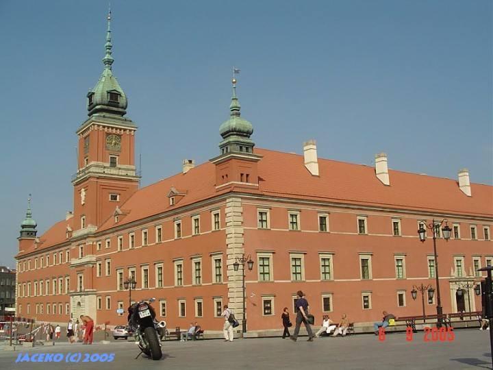 Warszawa Zamki